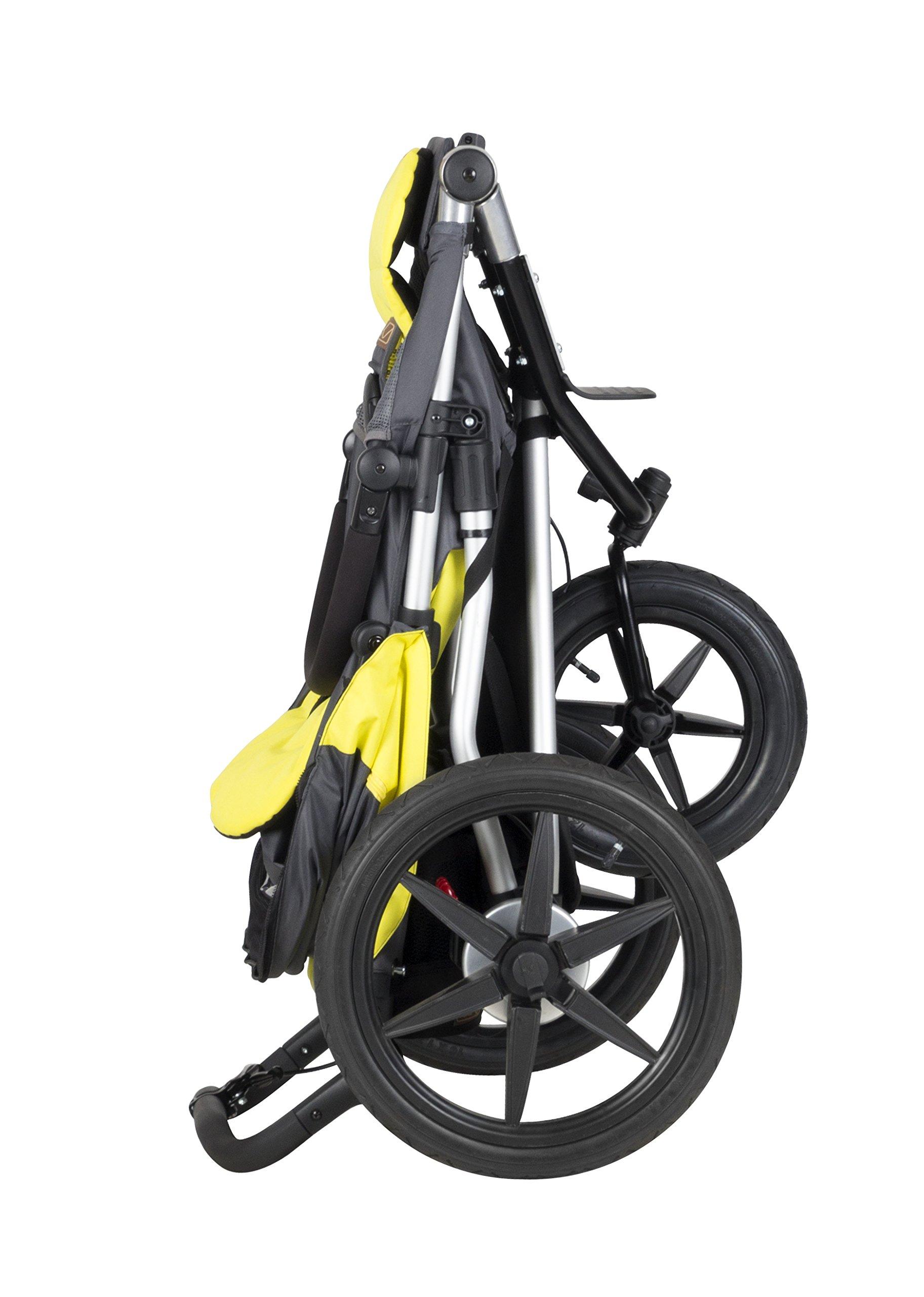 Mountain Buggy Terrain Premium Jogging Stroller, Graphite by Mountain Buggy (Image #5)