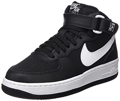 online store 40a24 078ee Nike Air Force 1 Mid (GS), Chaussures de Basketball garçon, Multicolore (