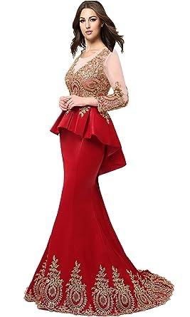 Puplem Dress with the Evening