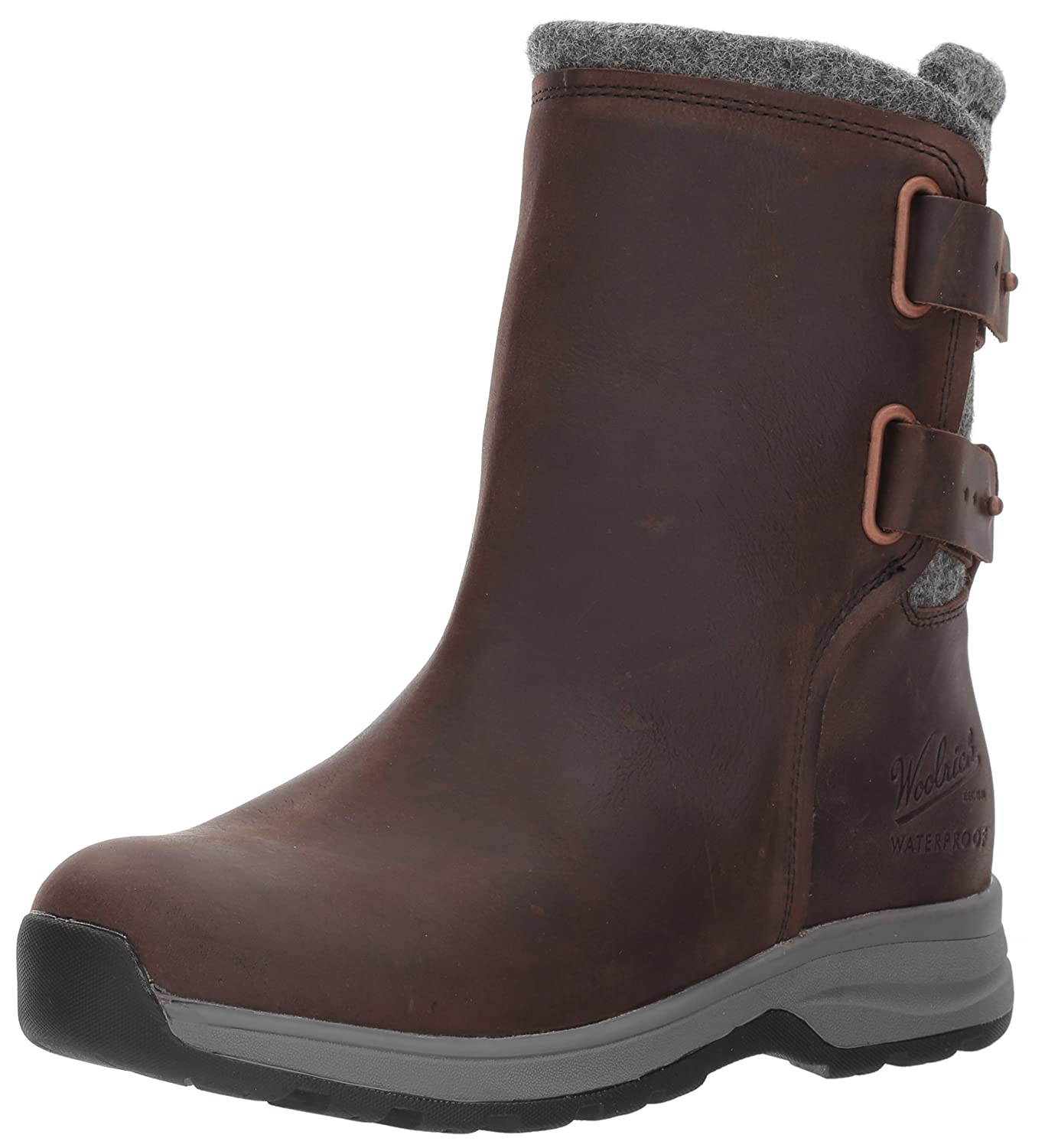 Woolrich Women's Koosa Winter Boot B01NAIKHUZ 6.5 B(M) US|Salt Marsh/Ash