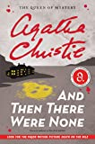 And Then There Were None (Agatha Christie Mysteries Collection) (Agatha Christie Mysteries Collection (Paperback))