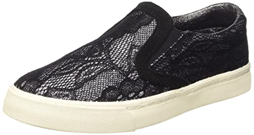 Slip ON, Sneaker Donna, Nero, 37 EU Prima Donna