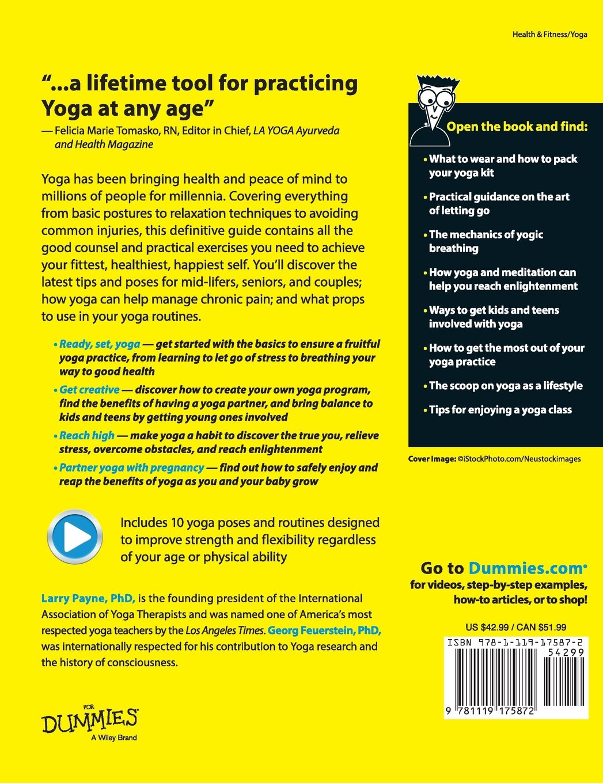 Yoga for Dummies: Amazon.es: Larry Payne: Libros en idiomas ...