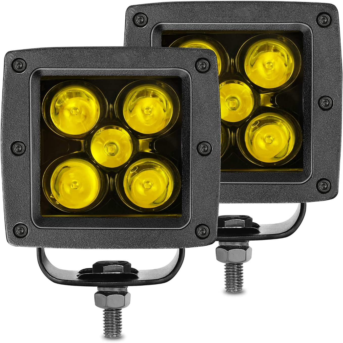 """20X 48W SPOT LED Off road Work Light Cube Pods Truck Driving UTE 18W 24W 4/""""in"""