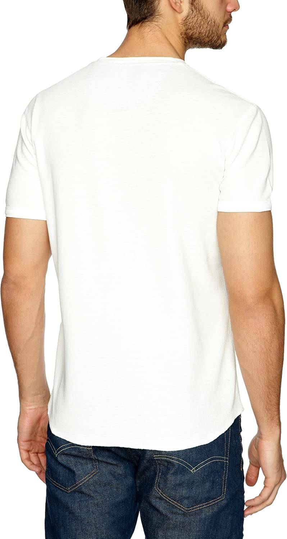 Levis Short Sleeve Slim Waffle Henley - Camiseta de manga corta ...