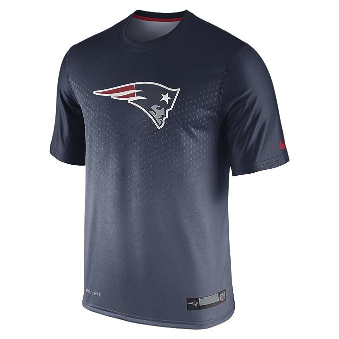 Nike Legend Sideline (NFL Patriots) Camiseta de Manga Corta (Small)