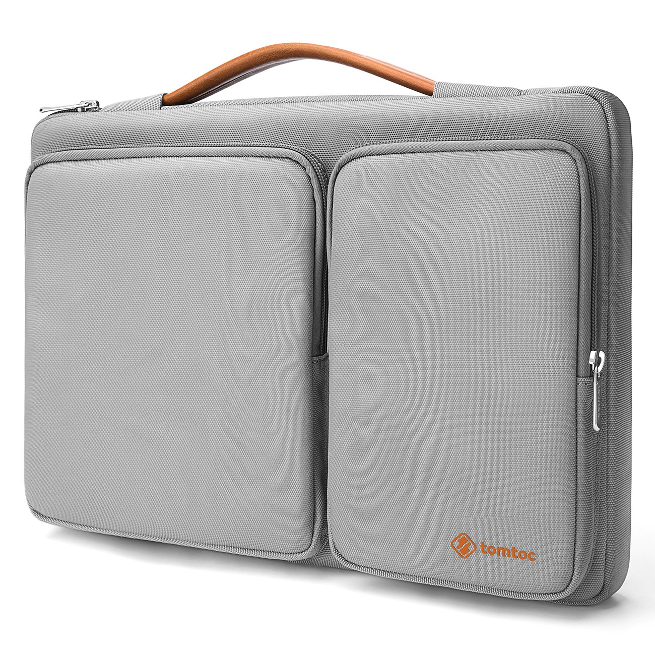 tomtoc 360° Protective Laptop Sleeve Compatible with New MacBook Air - 13.3'' Retina Display 2018 A1932| 13 Inch New MacBook Pro A1989 A1706 A1708 | Surface Pro 6/5/4, Water Resistant Laptop Briefcase