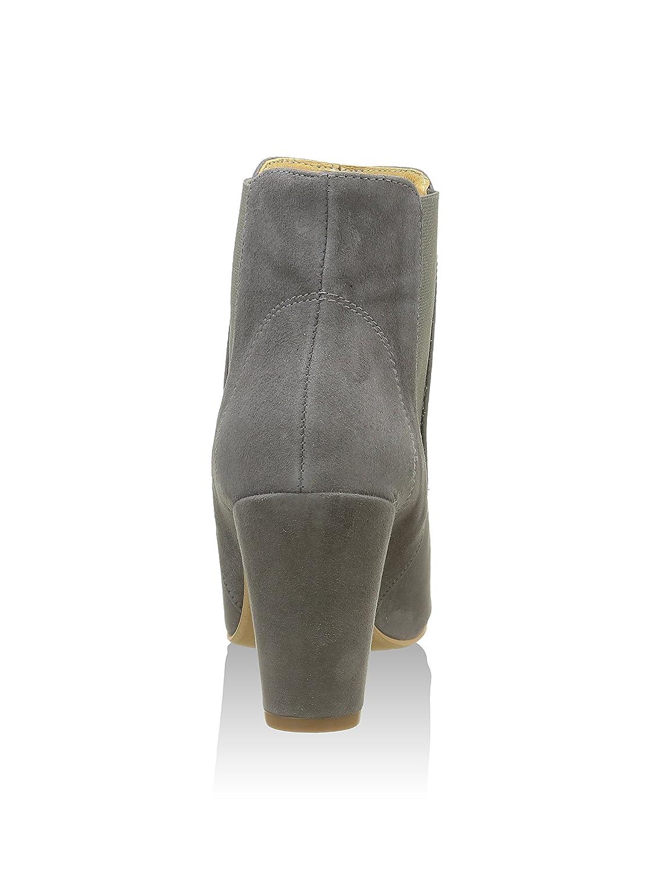 Schuhe The Bear Kurzschaft Damen Hannah Kurzschaft Bear Stiefel, Grau (Grau), 38 EU - e2ef42