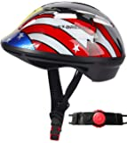 SG Dreamz Toddler Helmet - Adjustable from Infant to Toddler Size, Ages 1 to 3 - CSPC Certified Kids Bike Bicycle…