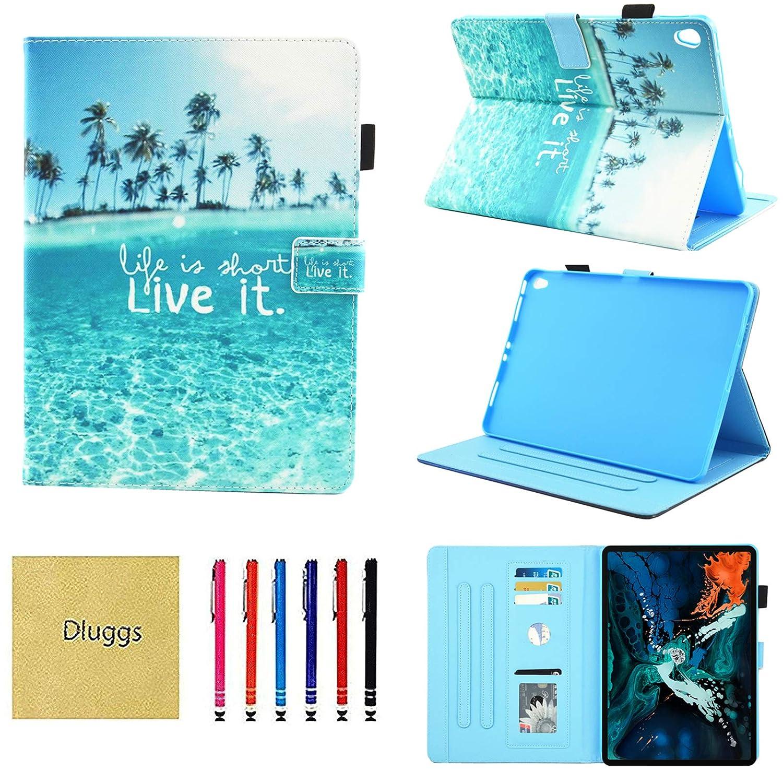 【新作入荷!!】 Dluggs iPad 001 11インチ Pro 11インチ 2018用ケース iPad Pro Pro 11インチ用ケース スリムフィット PUレザー 二つ折り スマートスタンドカバー 自動スリープ/スリープ解除機能付き iPad Pro 11インチ 2018タブレット用 DLG0999 001 Beach B07KXNVG4L, OOTW:81267806 --- a0267596.xsph.ru