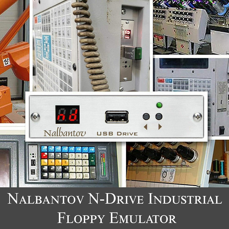 Nalbantov 工業用USBフロッピーディスクドライブエミュレーター Cybelec DNC 80用