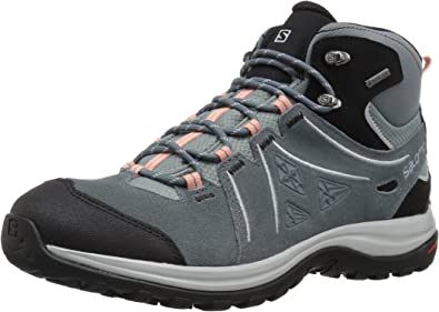 salomon outline mid gtx black titan