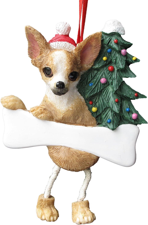 Christmas Tree Ornament Small Ornament Chihuahua Christmas Ornament