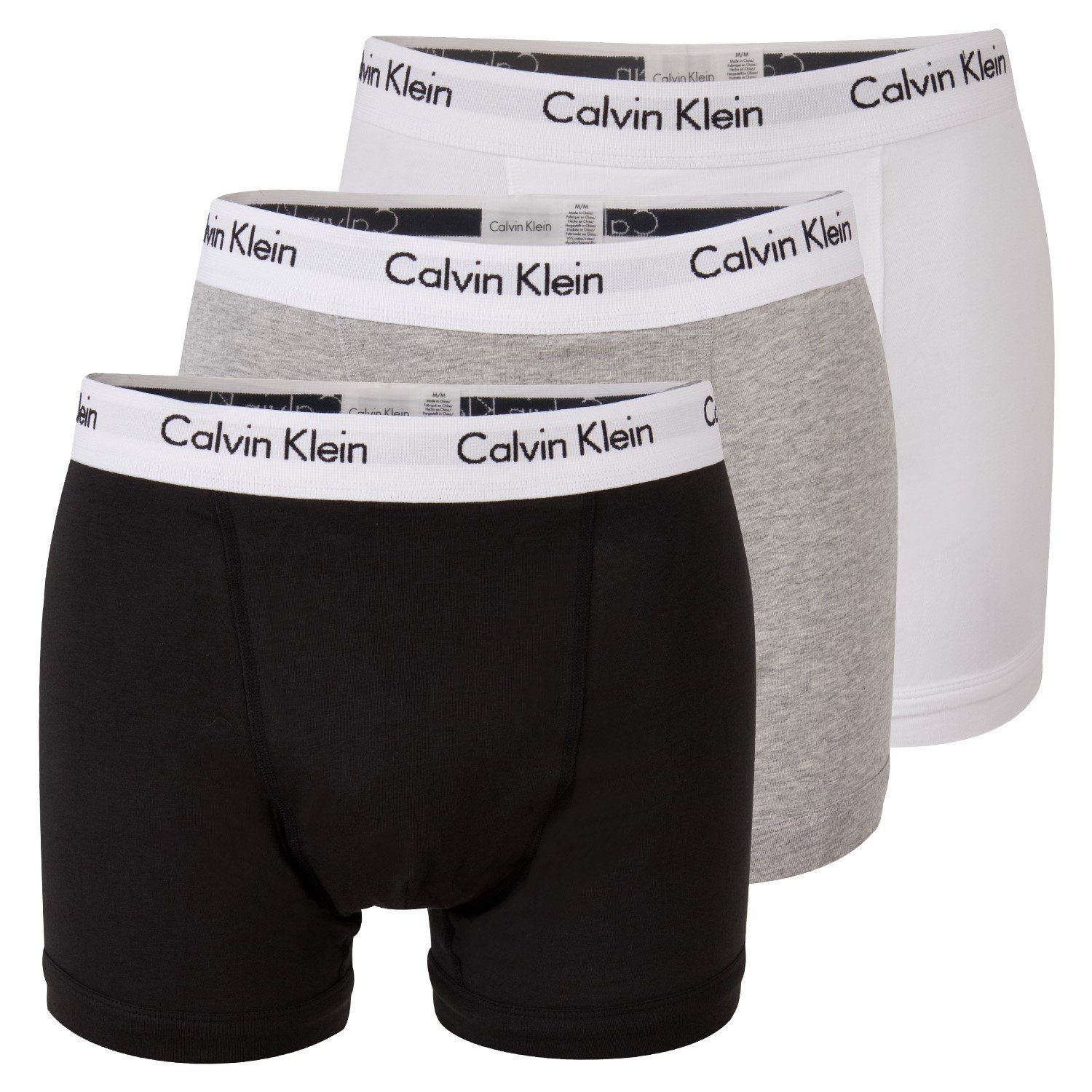 Calvin Klein Boxer Calecon Pack of 3 Grey/Black/White
