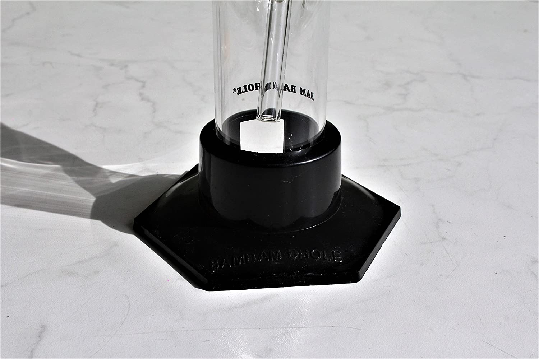 14.5er Schliff Top Qualit/ät inkl H/öhe 29cm /Ø 42mm Siebe PatchouliWorld Bong von BamBamBhole/® Stecksystem