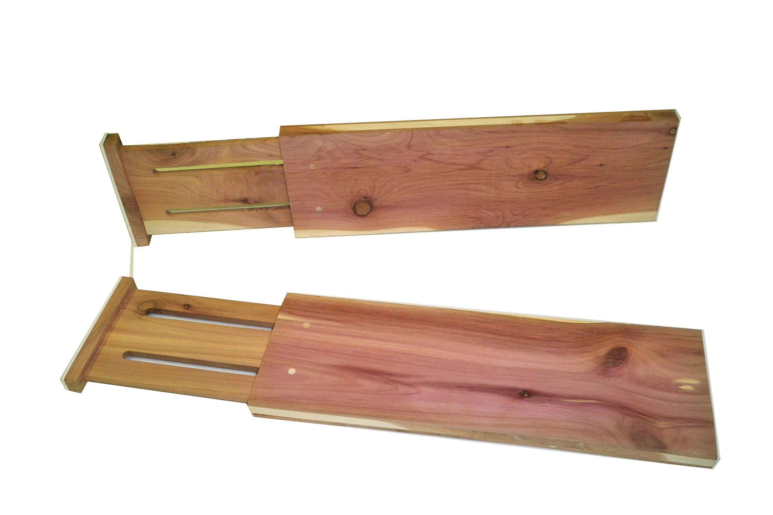 Axis International Marketing Drawer Dividers 3 pc Cedar Expandable for Dresser, Set, Piece by Axis International Marketing (Image #2)