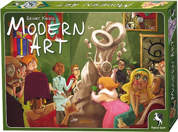 Pegasus Spiele 51975G Modern Art - Juego de Mesa sobre subastas de Arte [Importado de Alemania]: Amazon.es: Juguetes y juegos