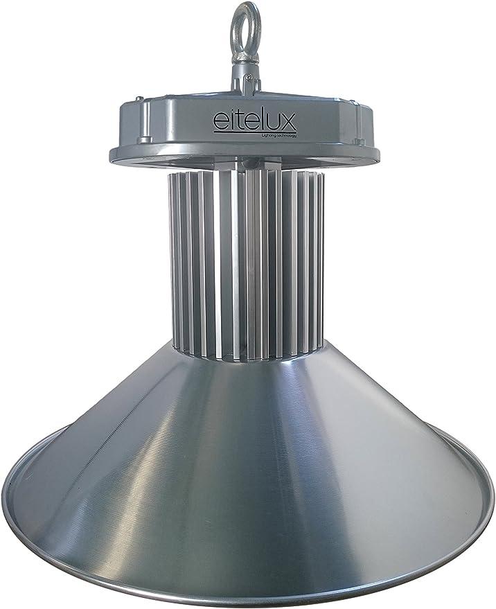 Eitelux EIT-100W-MW-2 Campana LED, 5000 K 100 W, Gris 500 x 500 x ...