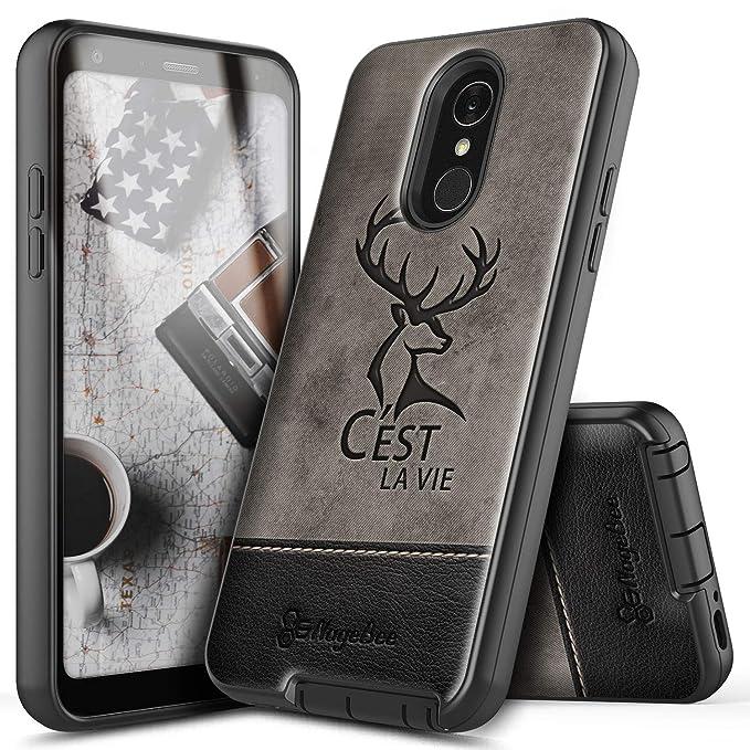NageBee - Carcasa para LG Q7, LG Q7 Plus, LG Q7+, con ...