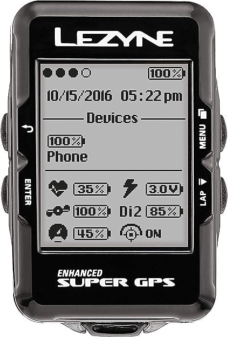 LEZYNE Enhanced Super GPS Cycling Computer