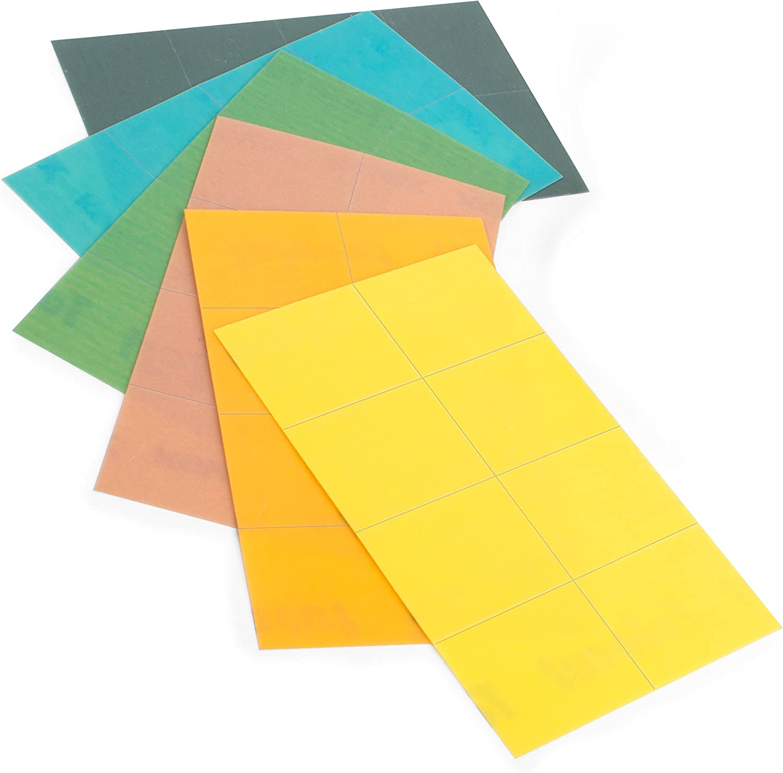 25 shts//box Eagle Abrasives Inc Super Assilex Lemon Sheets Eagle 191-1509
