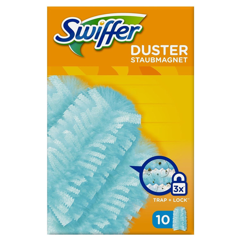 Swiffer Duster Ricarica per Piumino Catturapolvere, 10 Pezzi 05413149130692