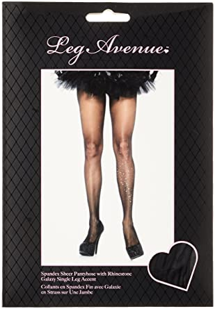 15dcc426b21 Leg Avenue Women s Hosiery Black black one size  Amazon.co.uk  Clothing