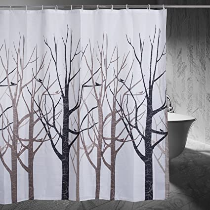 Image Unavailable Not Available For Color Moldiy Shower Curtain Tree Design