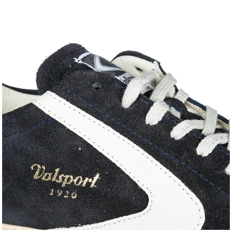 Valsport Blau 1920 Herren Tournament Turnschuhe Blau Valsport Bianco 53f953
