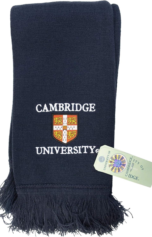 Licensed Cambridge University/™ Navy Scarf