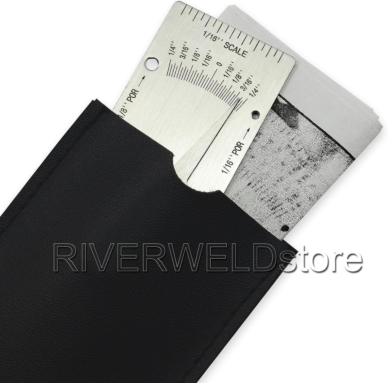 V-WAC Gage simple de soudure Inspection en pouces Jauge