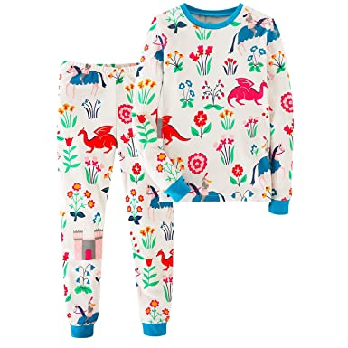 e31d5b9ef21fd De feuilles 2 Pieces Kids Toddlers Outfit Set Print Long Sleeve Pants  Clothing Set Pyjamas: Amazon.co.uk: Clothing