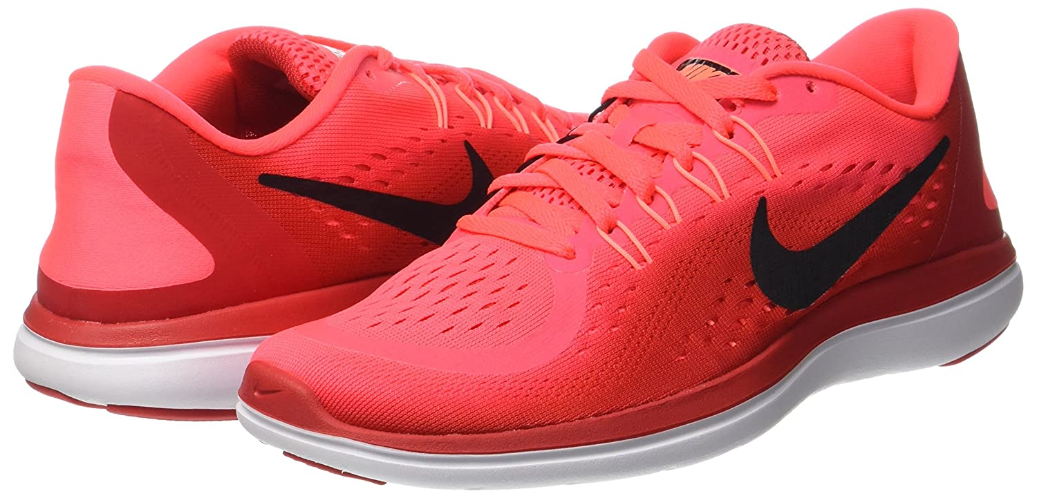 NIKE Flex 2017 RN B01N3T0CON 5.5 B(M) US|Solar Red/Black/University Red