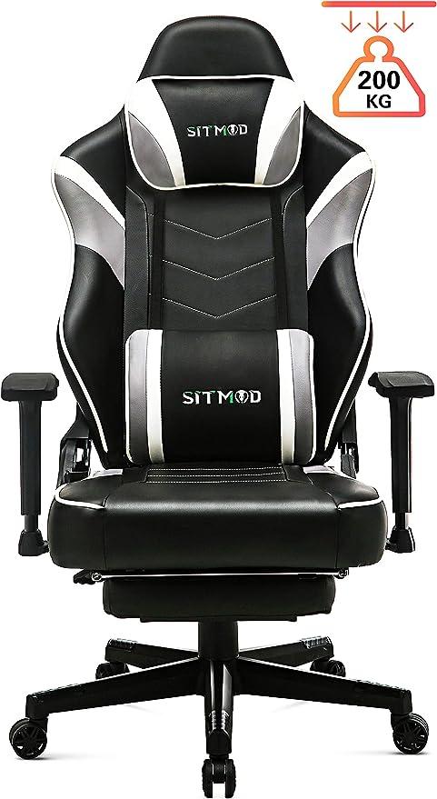 SITMOD Silla Gaming Oficina Ergonomica Sillas de Escritorio 200kg ...