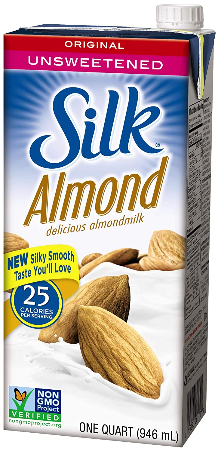 Silk Unsweetened Original Almond Milk
