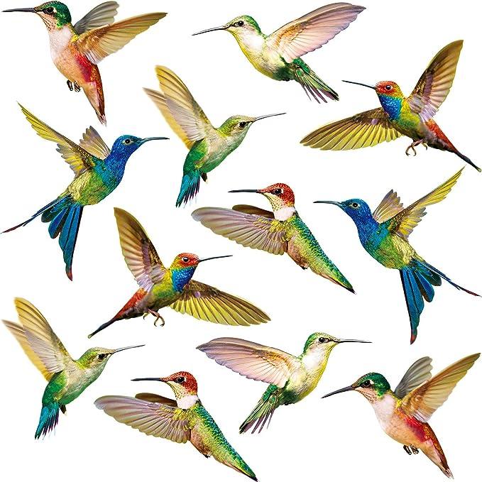 Kolibri Fenster Haftet Vogel Fenster Aufkleber Anti Kollision Fenster Haftet Abziehbildern
