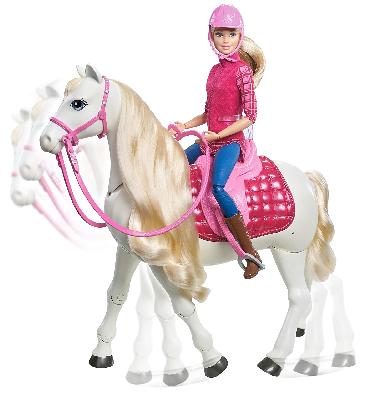 Barbie FTF02 Dreamhorse Doll and horse Amazon Toys & Games