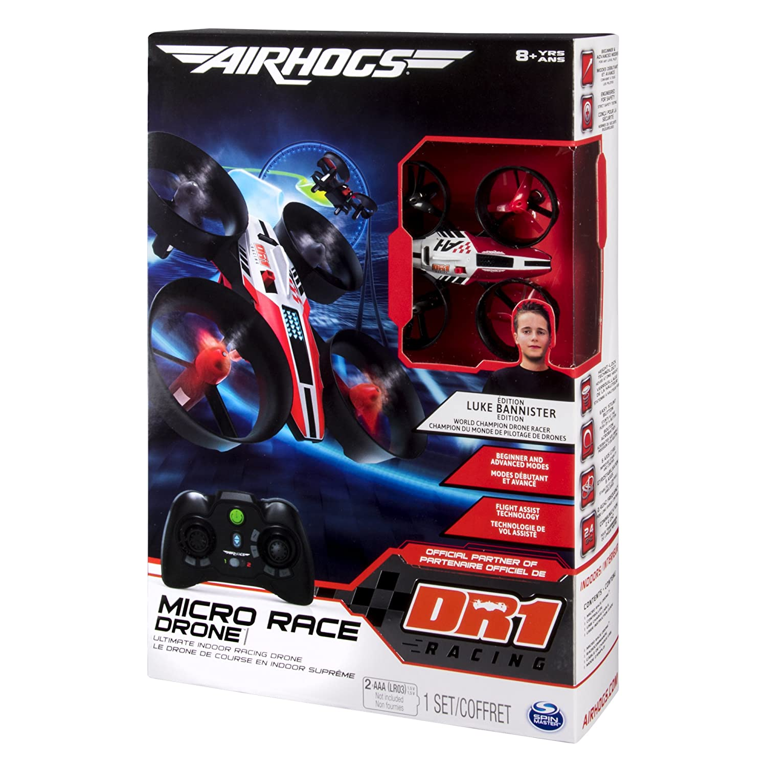 Air Hogs 6037691 - Micro Drona de Carreras: Amazon.es: Juguetes y ...