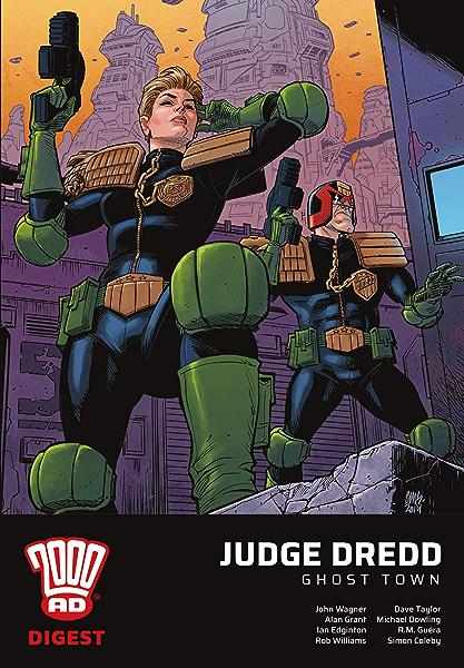 2000 AD Digest - Judge Dredd: Ghost Town (2000 Ad Digest ...