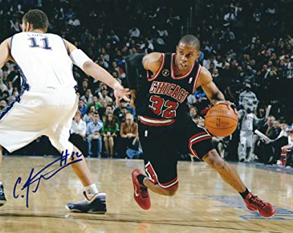 79d405f9de0c Autographed C.J. Watson 8x10 Chicago Bulls Photo at Amazon s Sports ...