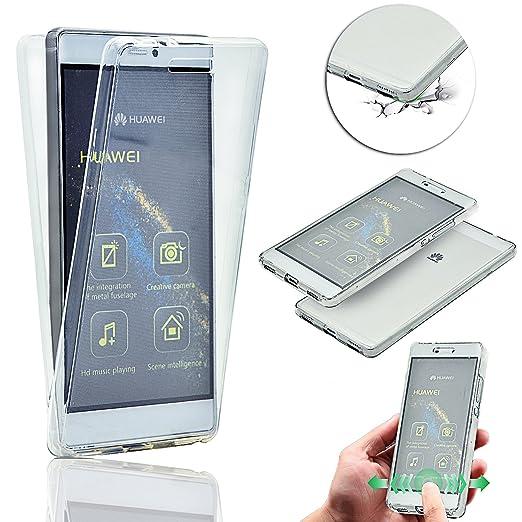 3 opinioni per Cover Huawei P8 Lite,Huawei P8 Lite Cover, Vandot Ultra Sottile Cristallo Clear
