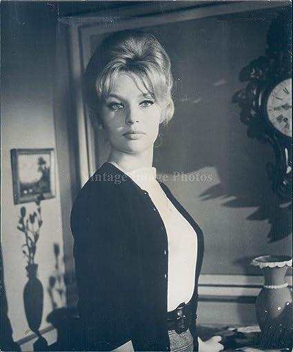 9389bbb6a8e9e Amazon.com: Vintage Photos 1962 Photo Annette Vadim Actress Marianne ...