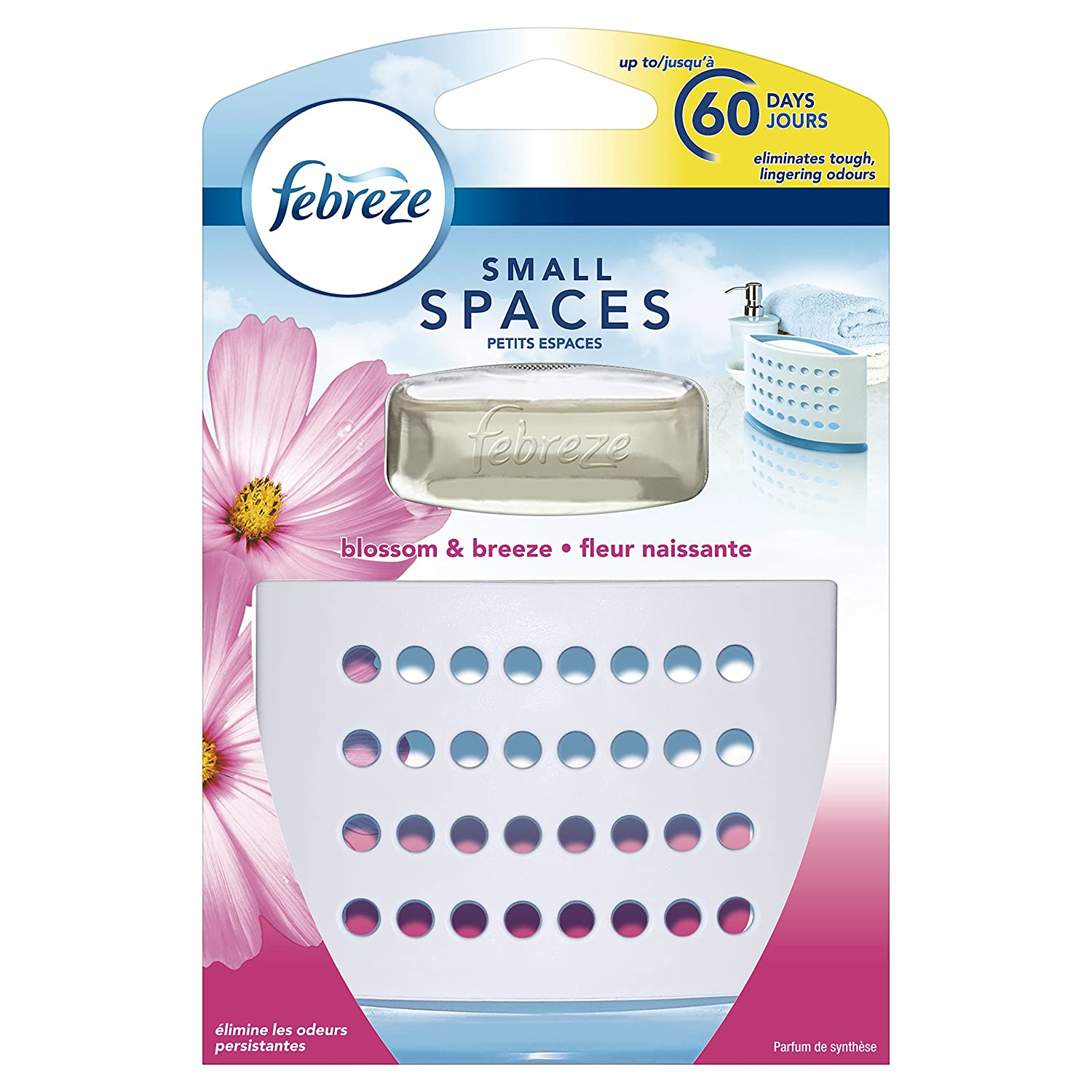 Febreze Small Spaces Blossom and Breeze Air Freshener Starter Kit, 5.5 ml, Pack of 7 Procter & Gamble 81611469