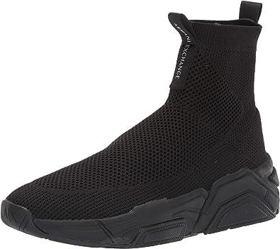 Armani Exchange Sneaker High Top, Zapatillas Altas para Hombre, Negro (Black 00002), 44.5 EU: Amazon.es: Zapatos y complementos