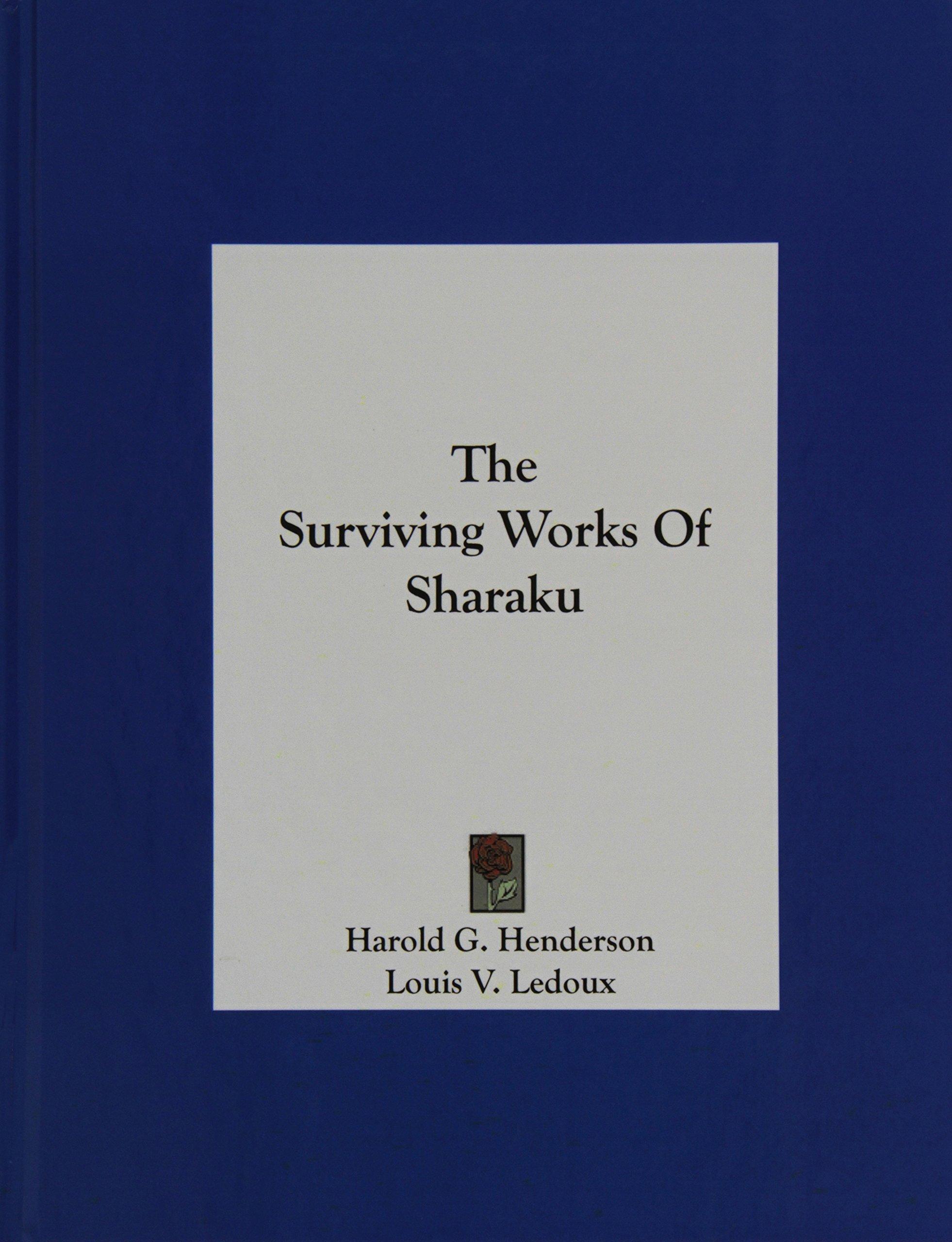 Download The Surviving Works Of Sharaku pdf epub