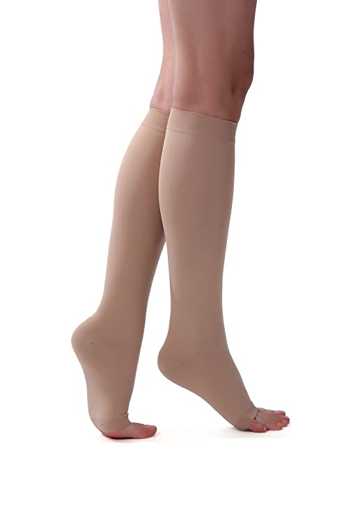 61bc0e2d9 Buy ONTEX Cotton Compression Stockings Knee Length for Varicose Veins