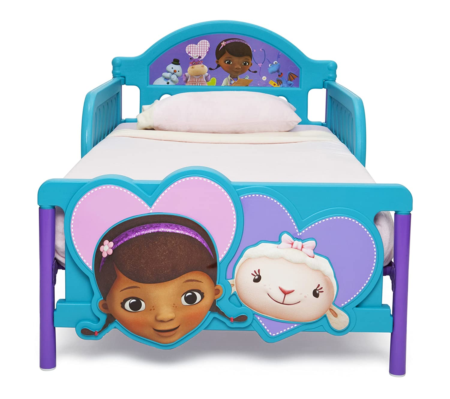 Amazon Delta Children 3D Footboard Toddler Bed Disney Princess Baby