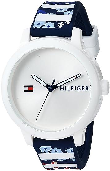 Tommy Hilfiger Reloj Analógico para Mujer de Cuarzo con Correa en Caucho 7613272232135