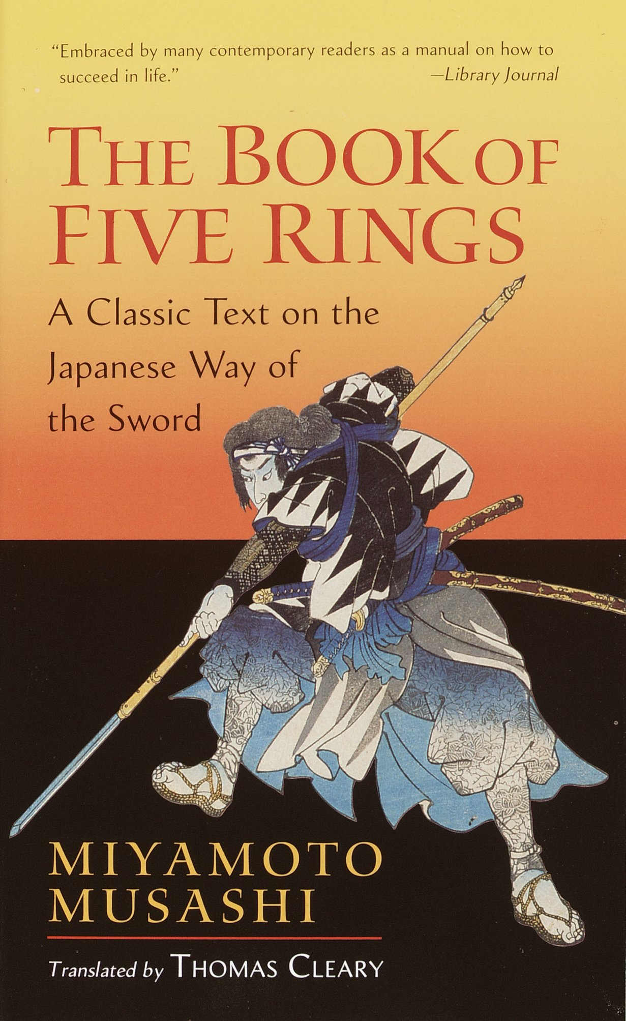 The book of five rings a classic text on the japanese way of the the book of five rings a classic text on the japanese way of the sword miyamoto musashi thomas cleary 8601404312748 amazon books fandeluxe Gallery