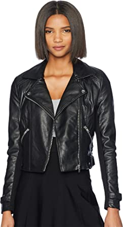 6285ea119 Romeo & Juliet Couture Women's Amour PU Biker Jacket